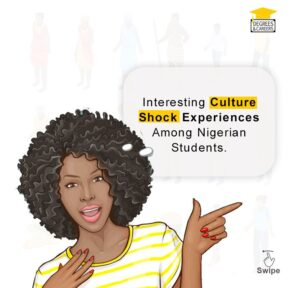 Culture shock experiences among Nigerian students abroad