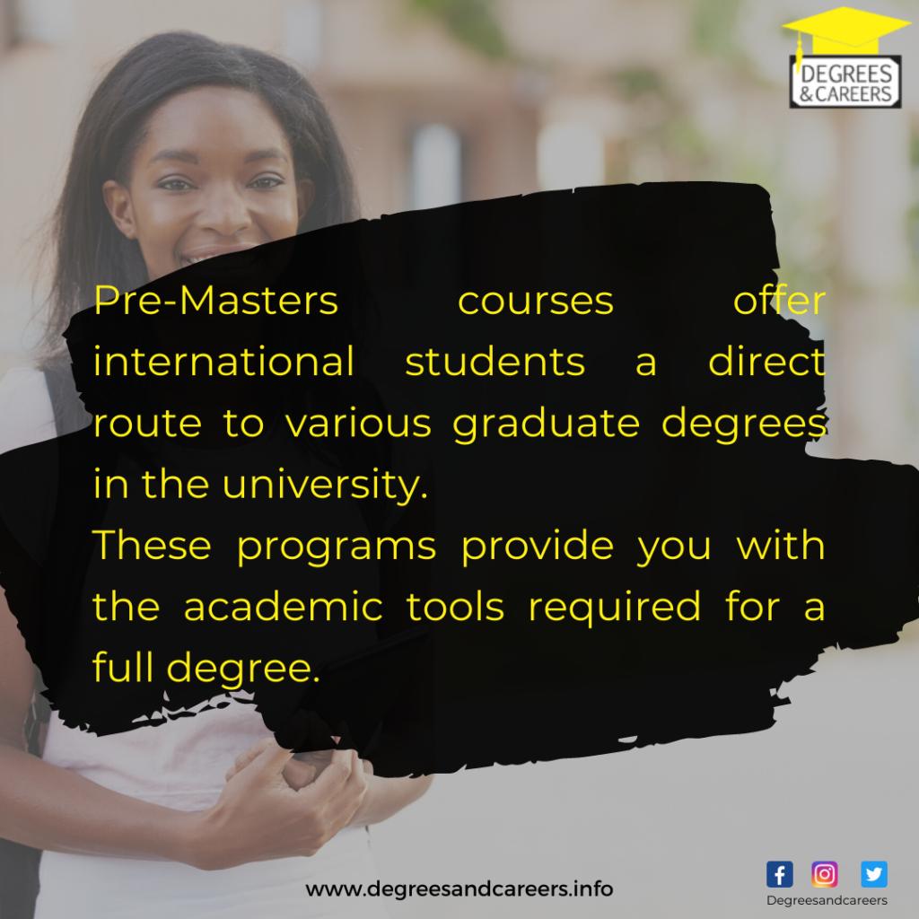 pre-masters course