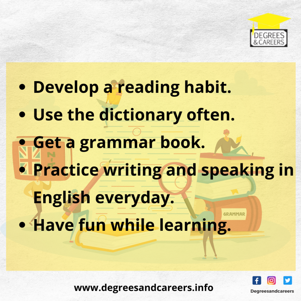improve your english proficiency
